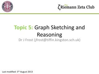 Topic 5:  Graph Sketching and Reasoning