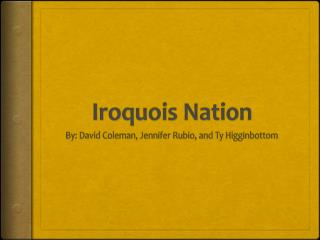 civilization and the iroquois confederacy By the 1660's however, this continuous warfare began to take its toll on the  iroquois confederacy the mid-1660's was also marked by the.