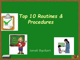 Top 10 Routines & Procedures