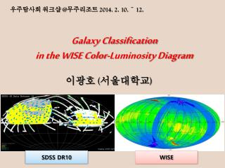 Galaxy Classification  in the WISE Color-Luminosity Diagram