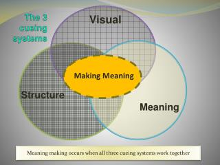 The 3 cueing systems