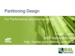 Partitioning  Design