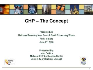 CHP   The Concept