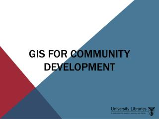 GIS for Community Development