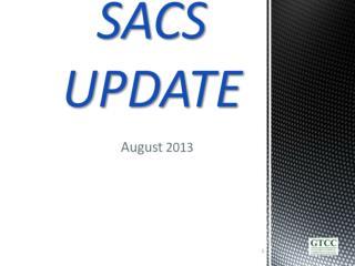 SACS UPDATE