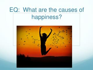 EQ:  What are the causes of happiness?
