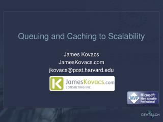 Queuing and Caching to Scalability
