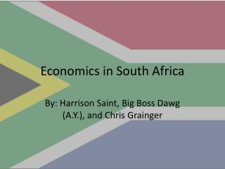 Economics in South Africa