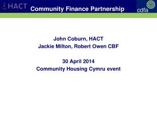 Community Finance Partnership
