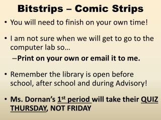 Bitstrips  – Comic Strips
