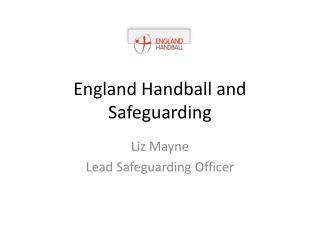 England Handball and Safeguarding
