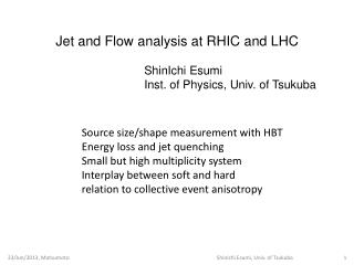 Source  size/shape  measurement with HBT Energy loss and jet quenching