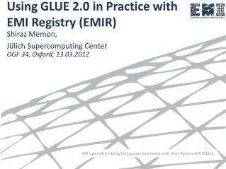 Using GLUE  2.0  in Practice  with  EMI Registry (EMIR)