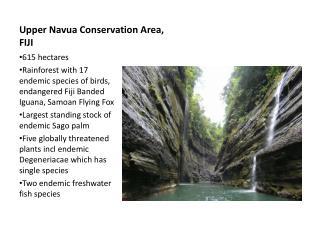 Upper Navua Conservation Area, FIJI