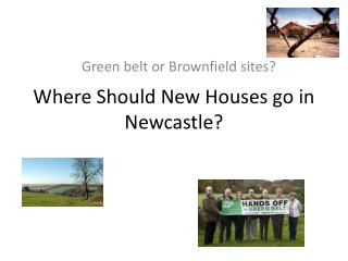 Where Should New Houses go in Newcastle?