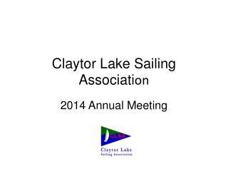 Claytor  Lake Sailing Associati on