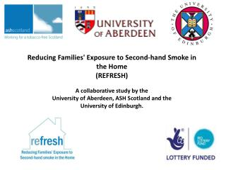 Reducing Families' Exposure to Second-hand Smoke in the Home (REFRESH)