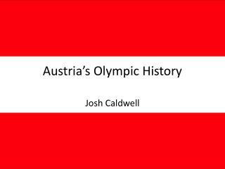 Austria's Olympic History