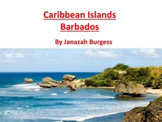 Caribbean Islands Barbados