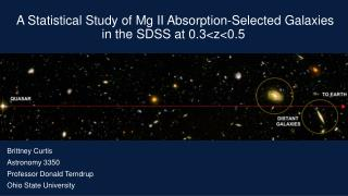 A Statistical Study of Mg II Absorption-Selected Galaxies in the SDSS at 0.3<z<0.5