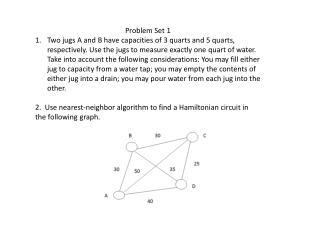 Problem Set 1