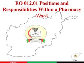 EO  012.01 Positions and Responsibilities Within a Pharmacy (Dari)