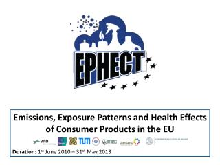 Emissions, Exposure Patterns and Health Effects of Consumer Products in the EU