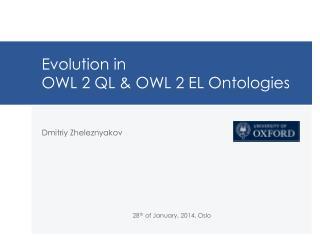 Evolution in  OWL 2 QL & OWL 2 EL Ontologies