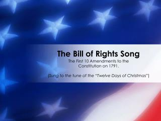 The Bill of Rights Song