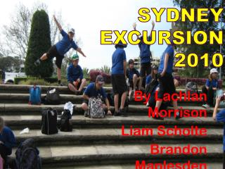 Sydney excursion 2010