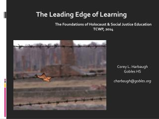 The Leading Edge of Learning