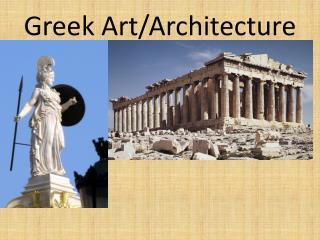 Greek Art/Architecture