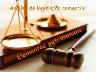 Analise de legislação comercial