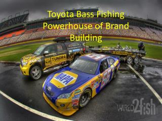 Toyota Bass Fishing Powerhouse of Brand Building