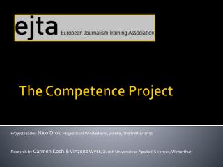 The Competence Project