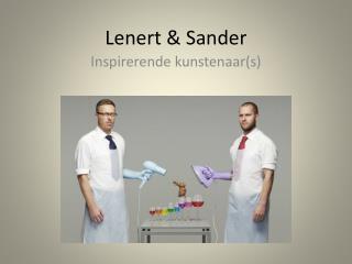 Lenert  & Sander