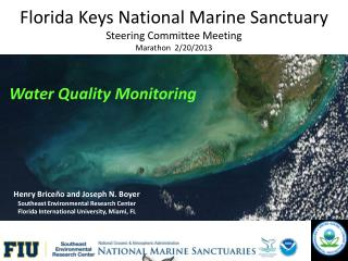 Florida Keys National Marine Sanctuary Steering Committee Meeting Marathon  2/20/2013