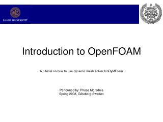 Introduction to OpenFOAM
