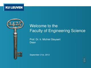 Internationalisation at the Faculty of Engineering Science