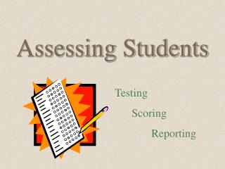 Assessing Students
