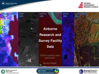 Airborne Research and Survey Facility Data