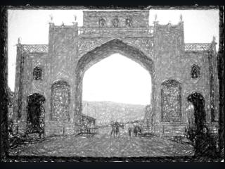 gate of shiraz