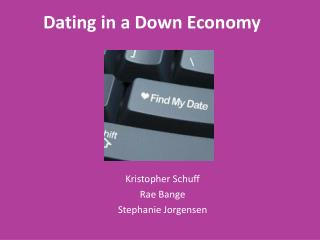 Dating in a Down Economy