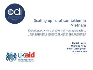 Scaling up rural sanitation in Vietnam