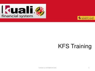 KFS Training