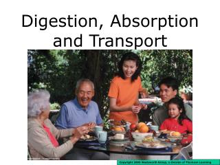 Digestion, Absorption and Transport