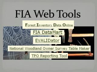 FIA Web Tools