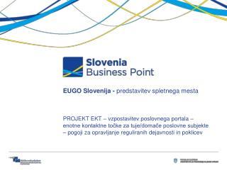 EUGO Slovenija -  predstavitev spletnega mesta