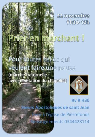 Rv  9 H30 Sœurs Apostoliques de saint Jean Face à l'église de Pierrefonds