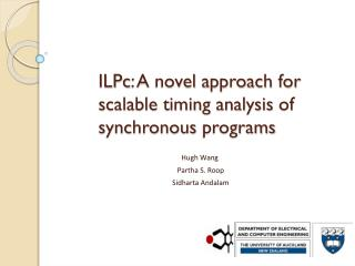ILPc : A  novel  approach for scalable timing analysis  of synchronous  programs